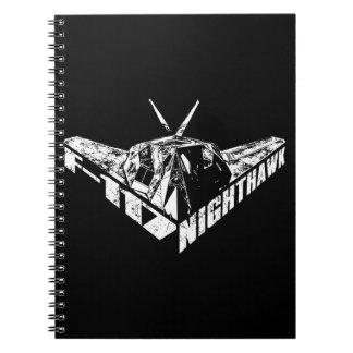 F-117 Nighthawk Photo Notebook (80 Pages B&W)