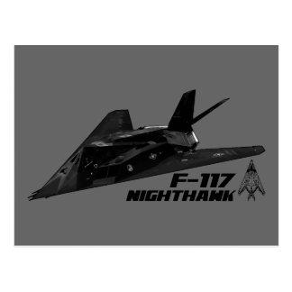 F-117 Nighthawk Postcard