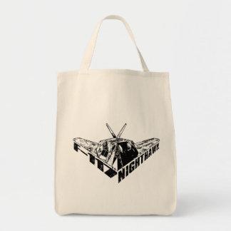 F-117 Nighthawk Tote Bags