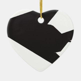 F-117 Stealth Fighter Ceramic Ornament