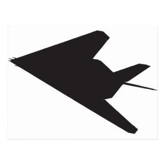 F-117 Stealth Fighter Postcard