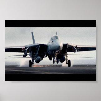 F-14 Landind Posters