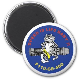 F-14 Tomcat 2 Inch Round Magnet