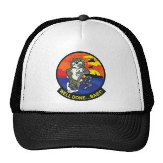 F-14 TOMCAT CAP TRUCKER HAT