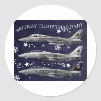 F-14 Tomcat Christmas Special Stickers