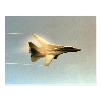 F-14 TOMCAT CON EL VAPOR POSTALES