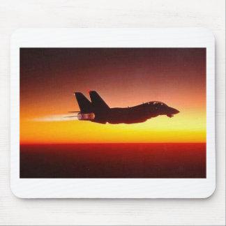 F-14 TOMCAT EN EL DISPOSITIVO DE POSCOMBUSTIÓN TAPETES DE RATON