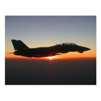 F 14 Tomcat Fighter Jet Postcard