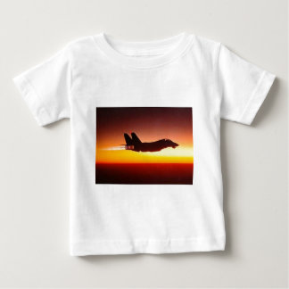 F-14 TOMCAT IN AFTERBURNER BABY T-Shirt