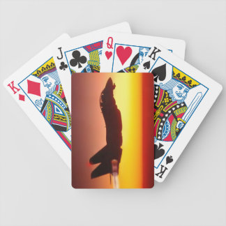 F-14 TOMCAT IN AFTERBURNER BICYCLE PLAYING CARDS