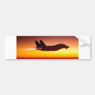 F-14 TOMCAT IN AFTERBURNER BUMPER STICKER