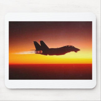 F-14 TOMCAT IN AFTERBURNER MOUSE PAD