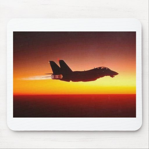 F-14 TOMCAT IN AFTERBURNER MOUSE MATS