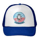 F-14 TOMCAT JET FIGHTER CAP TRUCKER HAT