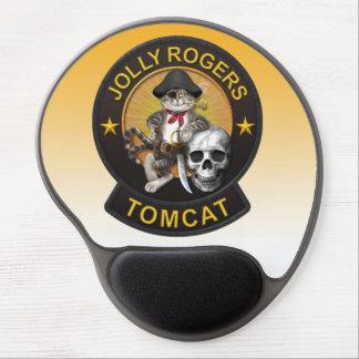 F-14 Tomcat Mascot Jolly Roger 2 Gel Mouse Pad