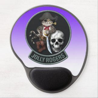 F-14 Tomcat Mascot Jolly Roger Gel Mouse Pad
