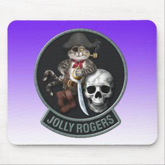F-14 Tomcat Mascot Jolly Roger Mouse Pad