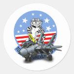 F-14 TOMCAT para siempre Pegatina