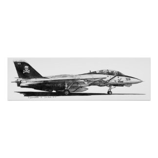 F-14 Tomcat - poster