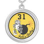F-14 Tomcat VF-31 Tomcatters Necklace