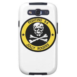 F-14 Tomcat  VF-84 Jolly Rogers Galaxy Case Samsung Galaxy SIII Cases