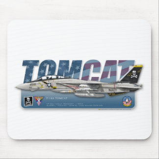 F-14 Tomcat VF-84 Jolly Rogers Mouse Pad