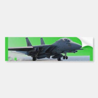 F-14D VF-213 WORLD FAMOUS BLACK LIONS BUMPER STICKER
