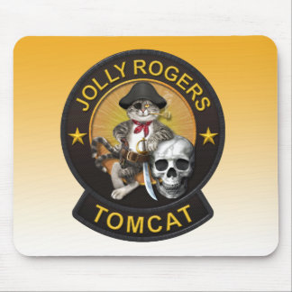 F-14Tomcat Jolly Roger 2 Mouse Pad