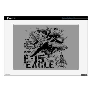 """F-15 Eagle Decal For Laptop 15"""" Laptop Skins"""