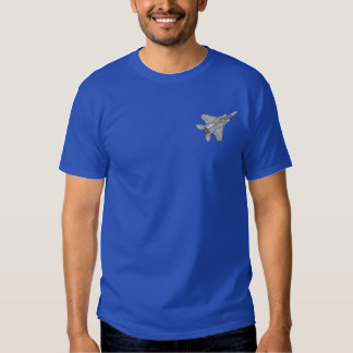 F-15 Eagle Embroidered T-Shirt
