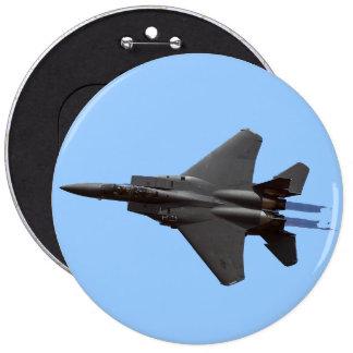 F-15 Eagle Flght Pinback Button