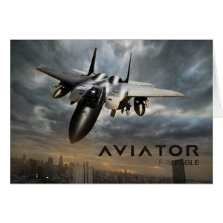 F-15 Eagle Jet Fighter Greeting Card