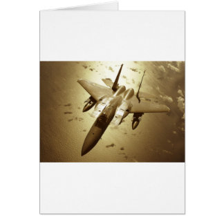 F-15 Eagle Jet Fighter Greeting Cards