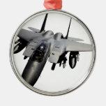 F-15 Eagle Jet Fighter Metal Ornament