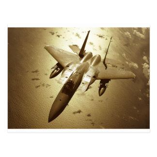 F-15 Eagle Jet Fighter Postcard