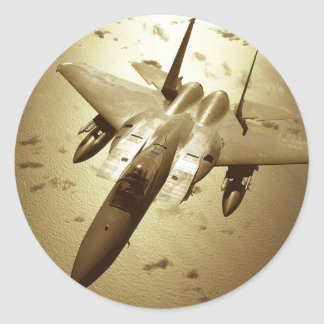 F-15 Eagle Jet Fighter Stickers