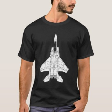 usairforce F-15 Eagle Jet Fighter T-Shirt
