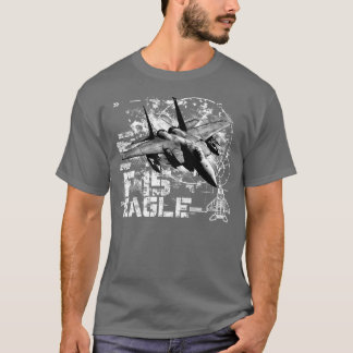 F-15 Eagle Men's Basic Dark T-Shirt