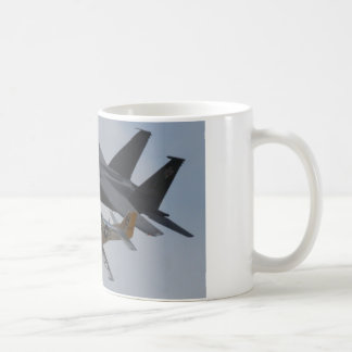 F-15 EAGLE + P-51 MUSTANG FORMATION COFFEE MUG