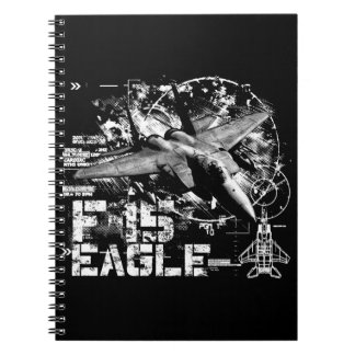 F-15 Eagle Photo Notebook (80 Pages B&W)