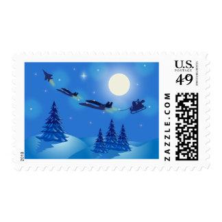 F-15 Eagle/sellos del navidad de Eagle de la Estampilla
