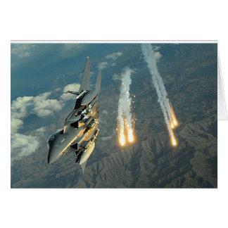 F-15 Eagle Tarjeta De Felicitación