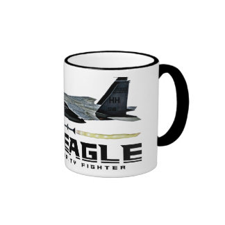 F-15 Eagle Taza De Dos Colores