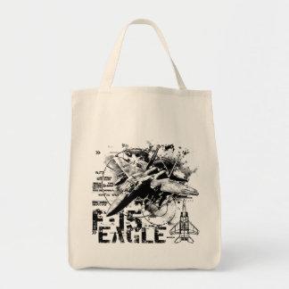 F-15 Eagle Tote Bags
