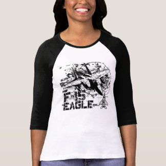 F-15 Eagle Women's Bella 3/4 Sleeve Raglan T-Shirt
