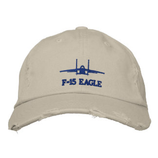 F-15 Golf Hat Embroidered Baseball Caps