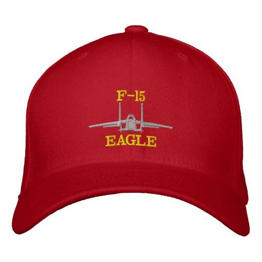 F-15 Golf Hat with Callsign Embroidered Hat
