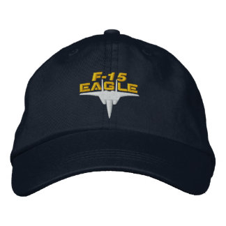 F-15 High Tech Eagle Golf Hat Embroidered Hats