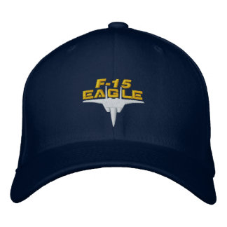 F-15 High Tech Eagle Golf Hat Embroidered Baseball Caps