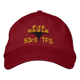 F-15 High Tech Eagle Golf Hat Embroidered Baseball Cap